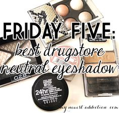Best Drugstore Neutral Eyeshadow -