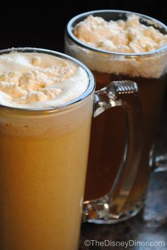 The Disney Diner: Harry Potter's Hot & Cold Butterbeer Recipes so gonna try this holiday!