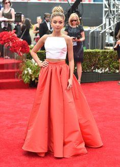 Sarah Hyland - Christian Siriano - 2014 Emmys