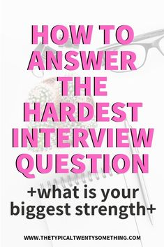 """How To Answer """"What Is Your Biggest Strength"""" During A Job InterviewHow To Answer, """"What Is Your Biggest Strength"""" During A Job Interview! job interview questions, what is your biggest strength, biggest weakness, how t. Management Interview Questions, Job Interview Preparation, Interview Answers, Interview Questions And Answers, Job Interview Tips, Job Interviews, Management Tips, Teacher Interviews, Career Quotes"""