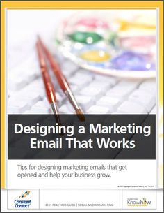 Tips for designing marketing emails that get opened and help your business grow! Small Business Marketing, Email Marketing, Marketing And Advertising, Social Media Marketing, Online Business, Marketing Communications, Future Career, Build Your Brand, Contact Email