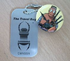 Moby_travel_bug Geocaching, Game Info, Travel Bugs, Tbs, Science For Kids, Art Music, Discovery, Coins, Hobbies