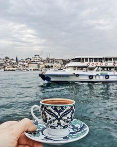 When everything is perfect: weather, sky, place and coffee (Eminonu, Istanbul, Turkey) // Viktoriya Sener (@tiebowtie) • Instagram photo