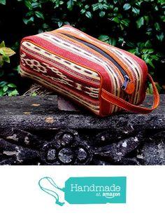 Guatemalan Textiles, Dopp Kit, Leather Handle, Ikat, Fresco, Suede Leather, Zip Around Wallet, Fabrics