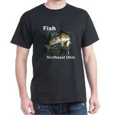Enjoy fishing for 'eyes in NEO? Showoff your passion wearing this t-shirt displaying a Walleye jumping for a worm harness and nightcrawler. Perfect on and off the water.
