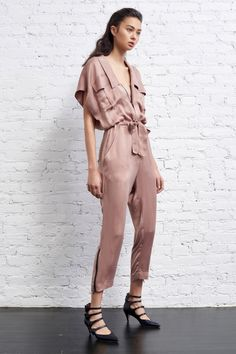 House of Ollichon loves...Marissa Webb Pre-Fall 2017 Jumpsuit. #jumpsuit #relaxed #chilled
