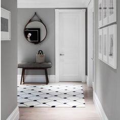 Shark Skin grey. THE colour right now. #Pantone #homedecor #homedesign #homeinspo #interiordesign #interiordesigner #hallways #homestyling