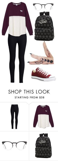 """""""DAY OUT"""" by kayleighlordtaylor on Polyvore featuring Rodarte, Victoria's Secret, Spitfire, Vans, Converse, women's clothing, women, female, woman and misses"""