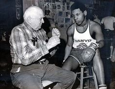 Back in the Days... Young Mike Tyson and Cus D'Amato