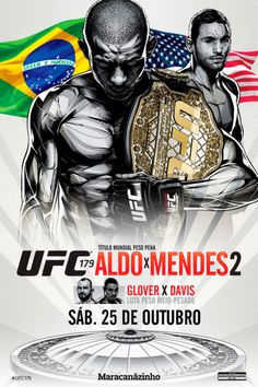 Confira o poster do UFC 179 - Aldo x Mendes 2 Ufc Events, Ufc Fighters, Mma Boxing, Martial Artists, Fight Night, Mixed Martial Arts, Movie Posters, Learning, School
