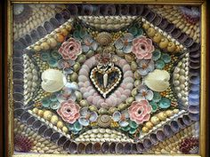 Antique Sailor's Shell Art Valentine | by Cave Creek