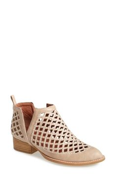 Free shipping and returns on Jeffrey Campbell 'Taggart' Ankle Boot (Women) at Nordstrom.com. Contrast stitching highlights the dramatic diamond cutouts of a rugged pointy-toe ankle boot set on a sturdy stacked heel.
