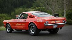 1965 Mustang drag racer