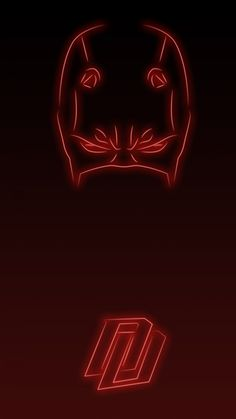 Daredevil. Tap to see more Superheroes Glow With Neon Light Apple iPhone 6s Plus HD wallpapers, backgrounds, fondos. - @mobile9
