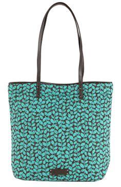 Day Tote in Shower Vines (inspired by Flower Shower!), $58 | Vera Bradley
