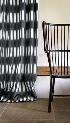Alacha Charcoal - Curtain Press shot