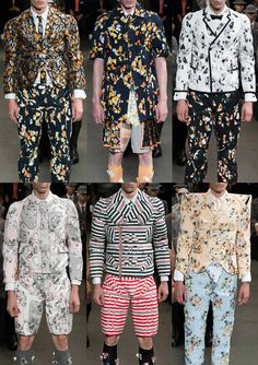 Paris Menswear Print Highlights – Spring/Summer 2015 catwalks