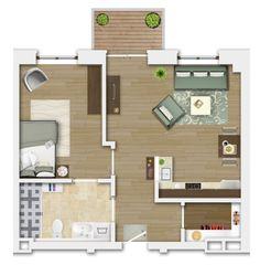 "Betreutes Wohnen im ""Alten Stadtmädchen"" House Plans, Floor Plans, How To Plan, Assisted Living, House Construction Plan, City, Blueprints For Homes, Home Plans, House Design"