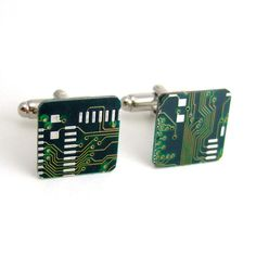 Hey, I found this really awesome Etsy listing at https://www.etsy.com/listing/72652290/techie-circuit-board-cufflinks-green