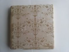 Ivory Chandelier Tumbled Marble Coasters Set by BaileyGirlCoasters, $15.00