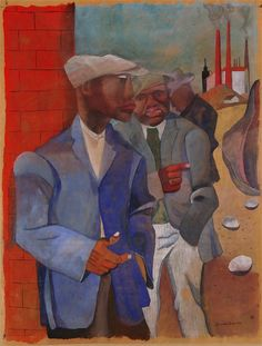 Factory Workers, 1942, R. Bearden