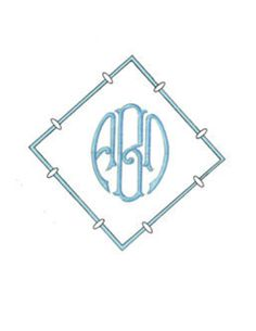 Special Monogramming - Andrew by Grace Hayes from Grace Hayes Linens
