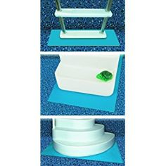 HydroTools by Swimline Protective Pool Ladder Mat and Pool Step Pad Swimming Pool Ladders Garden & Outdoor. protective mat eliminates scratching chaffing caused ladder. Great inflatables, above-ground in-ground swimming pools. Swimming Pool Steps, Swimming Pool Ladders, Swimming Pool Filters, Pool Decks, Above Ground Pool Steps, Above Ground Pool Ladders, Above Ground Swimming Pools, In Ground Pools, Backyard Pool Landscaping