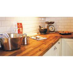 Interbuild Acacia Hardwood Benchtop Panel 2200x600x26mm