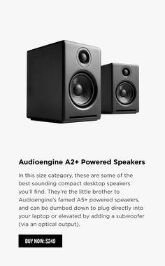 25 best desktop images desk setup pa speakers powered speakers rh pinterest com