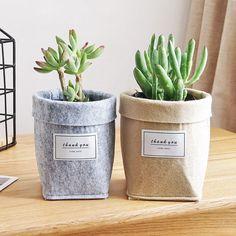 Plant Bags, Plant Basket, Flower Basket, Flower Pots, Green Plants, Potted Plants, Indoor Plants, Succulent Pots, Planting Succulents