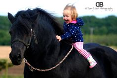 Little girls and horses! such joy!