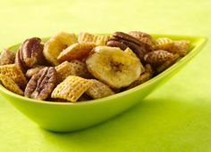 Chex® Bananas Foster Crunch Mix from Chex.com - Home of General Mills' Chex Cereals and the Original Chex Party Mix