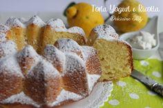La Torta allo Yogurt e Ricotta è una ricetta leggera e buonissima,un dolce soffice al profumo di limone..una vera tentazione,ma light e senza rimosrsi