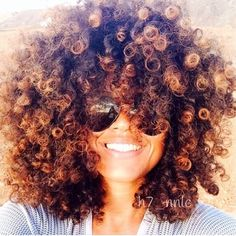 One day... after years of hard work and protective styles...