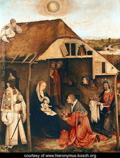 Nativity    Hieronymous Bosch