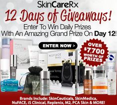 #Win #beauty #skincare products in the 12 Days Of Giveaways: Daily Prizes + Win Thousands In Top Brands