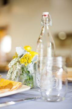 bottles and mason jars <3