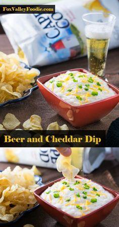 Beer and Cheddar Dip