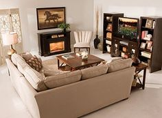 Future fireplace with L-shaped couch, Santa please bring this to me!!!
