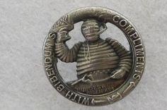 Vintage,Original,Collectible Very Rare Bibendum(Early Michelin Man)Hat/Lapel Pin #BibendumEarlyMichelin
