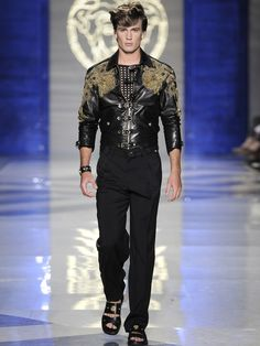 Versace Spring Summer 2012