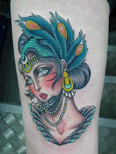 Tattoo by Valerie Vargas.