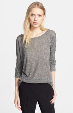 Vince Superfine Lyon Knit Crewneck Sweater available at #Nordstrom