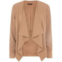 Beymen Club Beige waterfall Jacket, identical to the one in the picture by Elisabeta Franchi