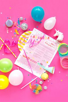 """""""What's your Party Personality?"""" Free Printable!"""