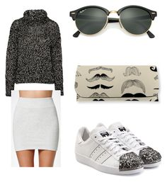 """""""Untitled #144"""" by kduffy-1 on Polyvore featuring rag & bone, Kendall + Kylie, adidas Originals and Ray-Ban"""