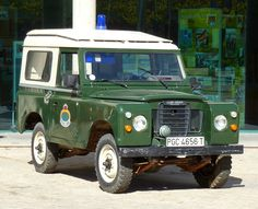 1970 Land-Rover Santana 88 de la Guardia Civil Española