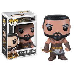 La figurine pop Khal Drogo en détails : notez, commentez et parlez de Khal Drogo avec les autres membres. Où acheter ou trouver la figurine Khal Drogo de la collection Game of Thrones.
