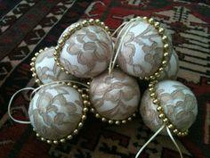 las bolas de Navidad y preciosos árboles de Navidad con perlas y cuentas (36) (700x525, 280Kb)