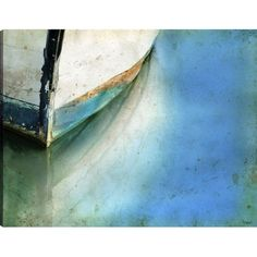 Boat Bow Canvas Wall Art